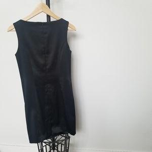 Kensie Dresses - Kensie Dresses Black Satin Sheath Dress